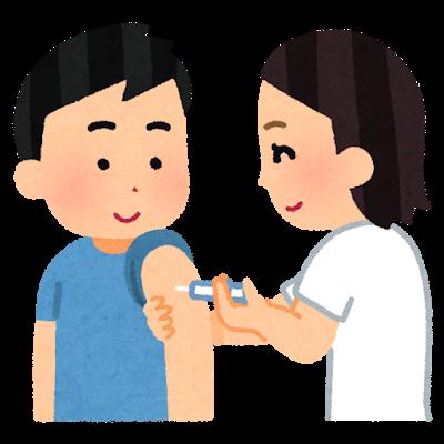 新型肺炎ワクチン接種行っています(高齢者優先)